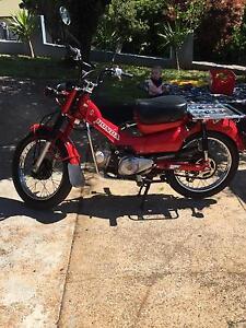 Honda CT110 Postie Bike Montello Burnie Area Preview