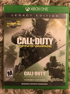 Xbox One Call of Duty Infinite Warfare + Remastered