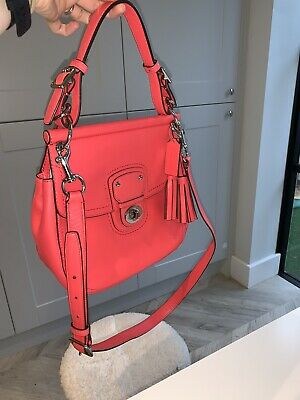 Coach Bag Nearly New...gorgeous For Summer
