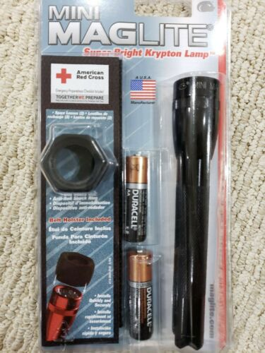 Flashlight, Mini Maglite, Lifetime Guarantee w/Xtra bulb, Ho