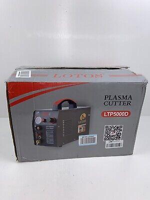 Pilot Arc Inverter Plasma Cutter 50 Amp For Metaldual Voltage 12 In. Clean Cut