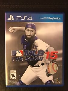 MLB The Show 15 PS4 Game