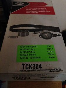 Gates Timing Belt Kit (Subaru)