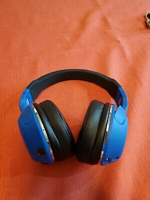 SKULLCANDY HESH 2 WIRELESS OVER-EAR BLUETOOTH HEADPHONES - BLUE/BLACK