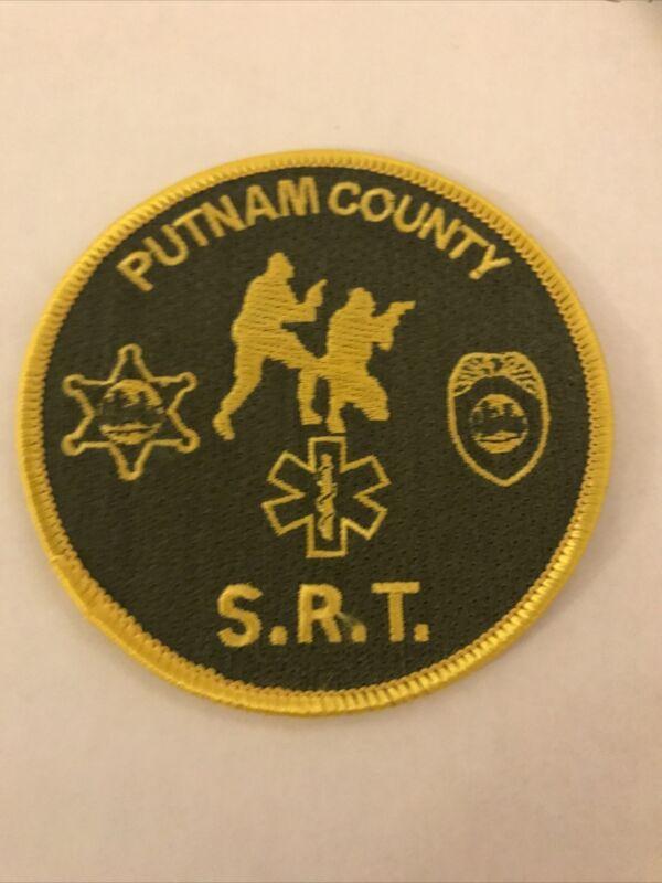 Putnam County West Virginia Sheriff SRT Swat Police Patch
