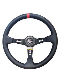 Sparco steering wheel performance 350mm deep dish racing horn