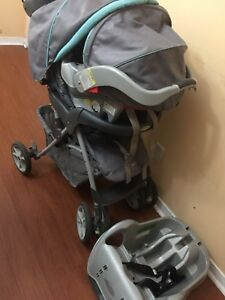 Graco travel system stroller car seat and base expiry sept2021