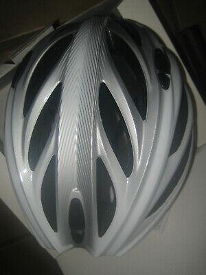 Fahrradhelm - Uvex Boss Race white/silver 52-56cm! NEU in OVP!