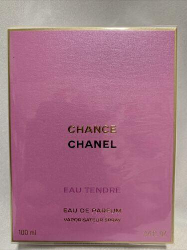 CHANEL Chance EAU TENDRE EAU DE PARFUM 3.4oz  100ml Sealed 138 Retail