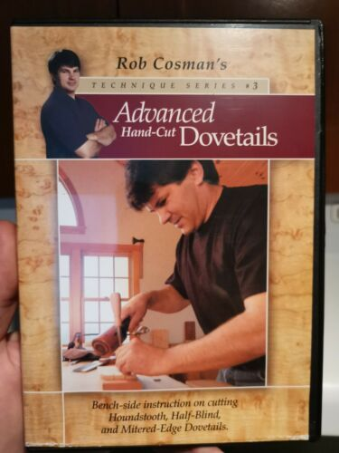 Rob Cosman s Technique Series 3 Advanced Hand-Cut Dovetails DVD Woodworking - $29.99