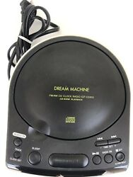 Sony Dream Machine CD Player Model ICF-CD815 FM/AM CD Clock Radio CD-R/RW