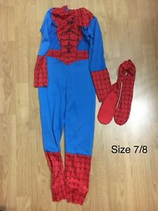 Spider-Man costume & shoe covers