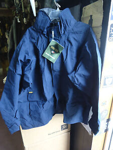 New XXL Propper Foul Weather Parka Coast Guard blue Gore-Tex jacket