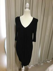 Seed Black Jersey Dress Tingalpa Brisbane South East Preview