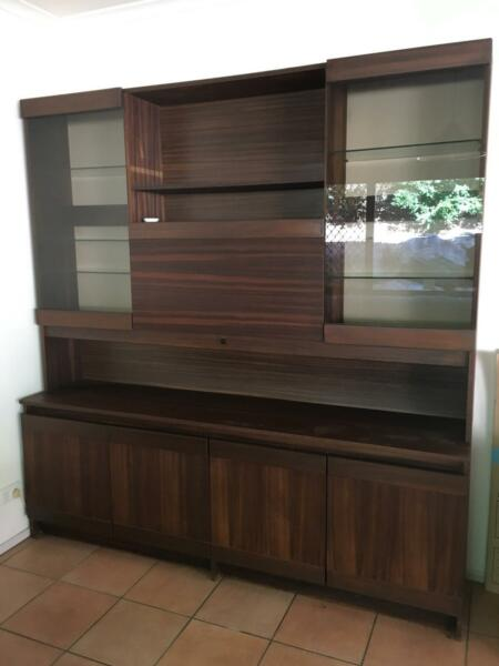 Wall unit with inbuilt bar   Cabinets   Gumtree Australia Brisbane ...