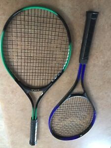 Two Voit Atomic Tennis Rackets