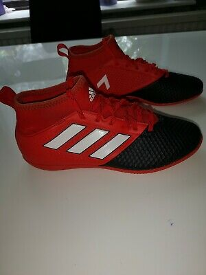 Adidas Ace 17.3 Primemesh in Halle Red Black UK7 Good Condition
