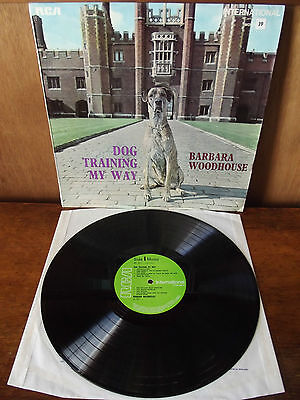 BARBARA WOODHOUSE - DOG TRAINING MY WAY   (LP)   MONO