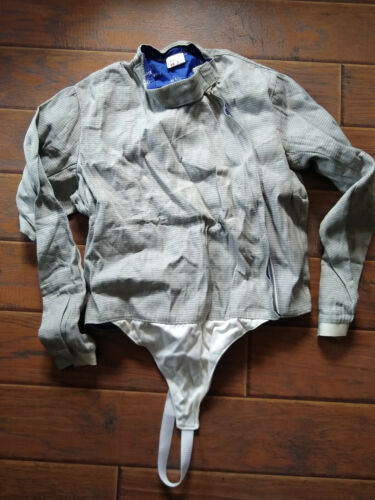 Blue Gauntlet Fencing Jacket Blue Size 48 RH