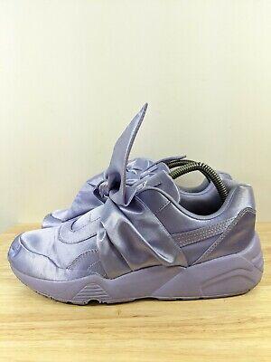 Women'S Original Puma X Fenty Bow Sz 8 Sneakers Purple Tint Rhianna Trainers