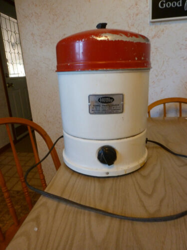 :) Home Health Milk pasteurizer 1 gallon. OLD. OLD. with bucket pail