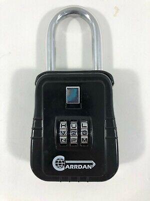 Carrdan Alpha Lock Box Hinged Realtor Lockbox Keybox