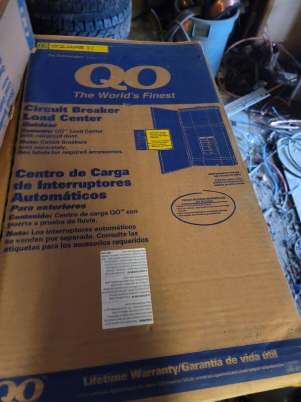 Square D Load Center QO12030M150RB 150A  outdoor breaker panel