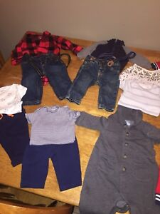 Boys size 3-6 months lot of clothes