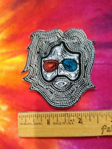 Grateful Dead Jerry Garcia Shades 2.5 x 2.25 Inch Iron On Patch