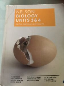 Nelson Biology units 3 & 4 ATAR