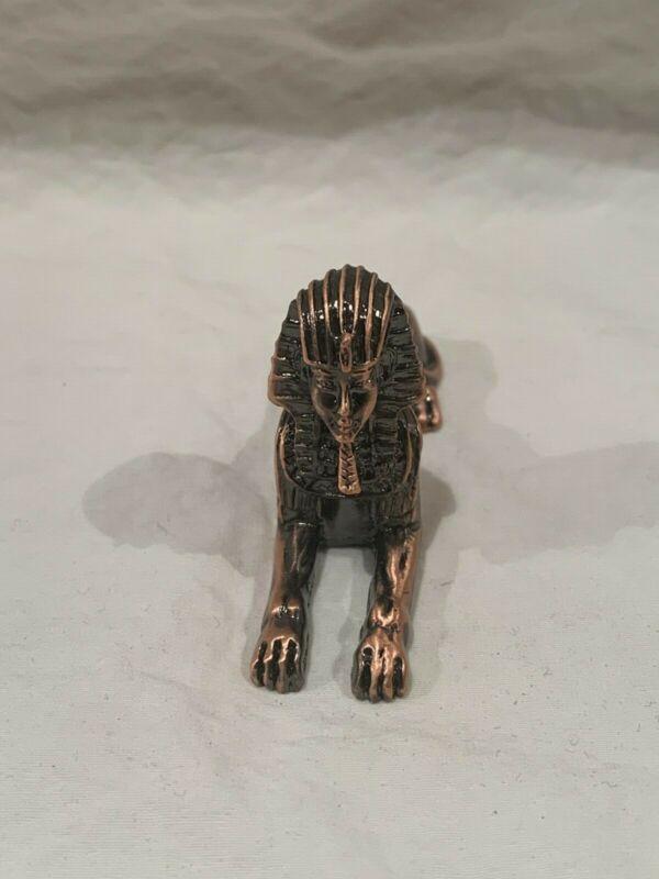 Vintage Egyptian Sphinx Figurine Statue