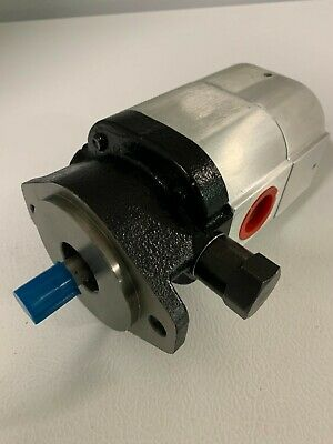 28 Gpm 2 Stage Hydraulic Pump Cast Iron Aluminium Construction