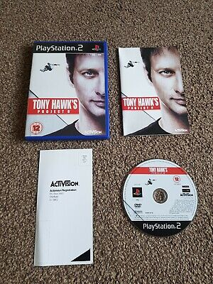 Tony Hawk's Project 8 (Sony PS2) Complete with Manual