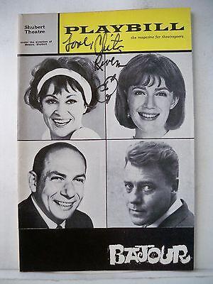 BAJOUR Playbill CHITA RIVERA Autographed TRYOUT Boston MA 1964
