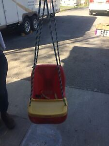 Baby swing for outside