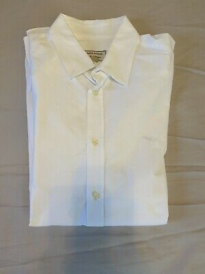 MAISON KITSUNÉ Men's Button Up White Sz 42