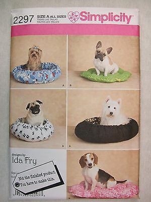 Dog Pet Beds Sewing Pattern 2297 S See Full Listing Info