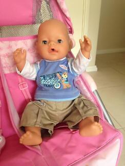 Baby Born interactive male doll