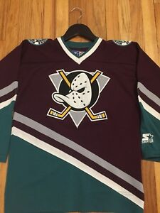Vintage Mighty Ducks of Anaheim Hockey Jersey