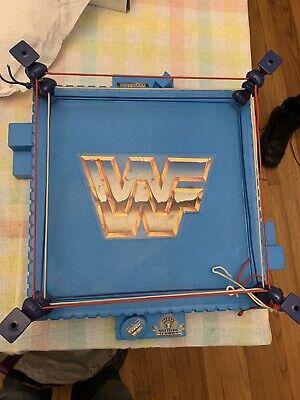 1989 TITAN WRESTLING RING WWF HASBRO WRESTLEMANIA