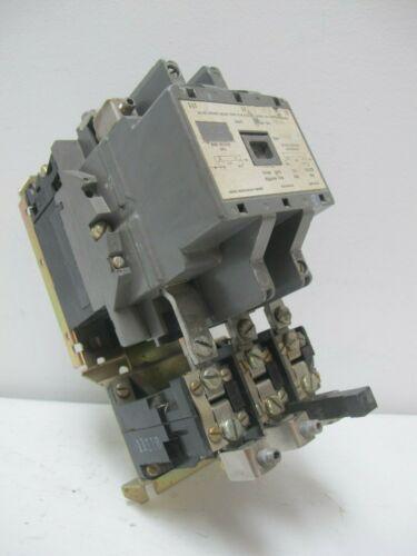 Federal Pacific 4204 CU33ES-01 Size 3 Motor Starter 90 Amp 120V Coil 3 P Sz 3