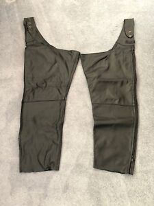 Leather motorcycle chaps for sale