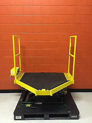 Southworth Ls2-24 2000 Lb Capacity Backsaver Hydraulic Scissor Lift Table
