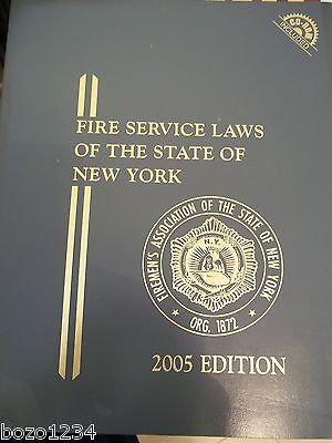 Fasny Fire Service Laws Of The State Of New York Lexisnexis 2005 Edition W  Cd