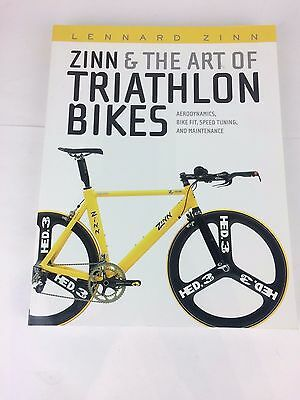 Zinn & The Art of Triathlon Bikes Book, NEW for sale  Shipping to Canada