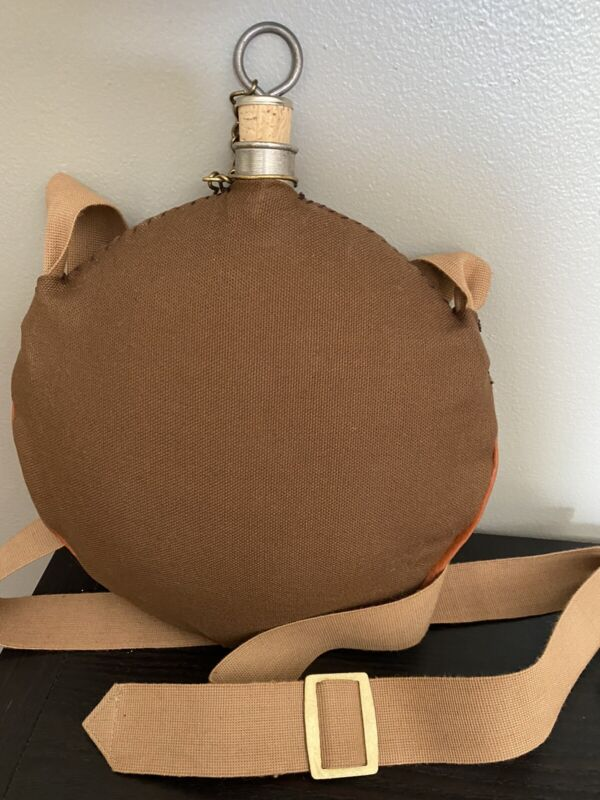 Indian Wars 1874 Type II Canteen Cover Leather Welted COMPLETE and FINISHED