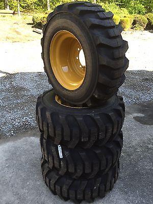 4-12-16.5 Galaxy Xd2010 Skid Steer Tires Wheelsrims For Caterpillar - 12x16.5