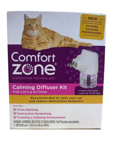 Comfort Zone Calming Diffuser Kit for Cats & Kittens - RETAIL PACKAGING