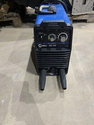 Miller Cst-280 Portable Stick Tig Suitcase Welder 907244