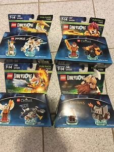 Lot Of 4 New Lego Dimensions